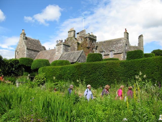Earls Hall Leuchars the Kingdom of Fife.